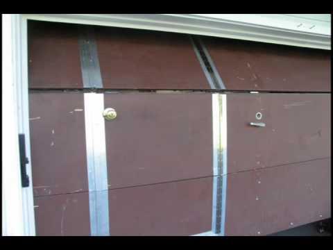 Walk Through Garage Door Youtube