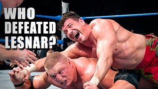 5 Superstars who beat Brock Lesnar - 5 Things