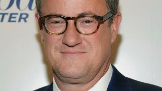 There is something strange about Joe Scarborough