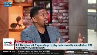 RJ Hampton announces NZ signing on ESPN's Get Up