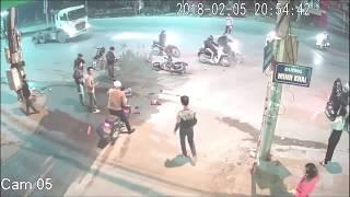 Vụ tai nạn Exciter tông trực diện ôtô ở Bắc Ninh tối 5-2-2018