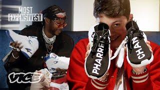 """2 Chainz Meets """"The Sneaker Don"""" Benjamin Kicks"""