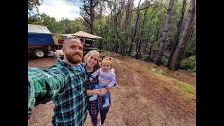 Dwellingup Family Camp Trip - and camp walk through