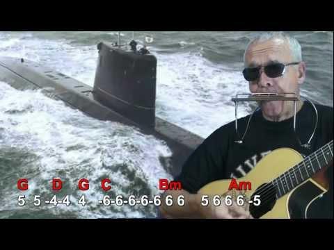 Nº 020 Solo le pido a Dios(Leon Gieco) armonica G diat+guitar Mundharmonika