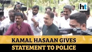 'Indian 2' tragedy: Kamal Haasan records statement before ..