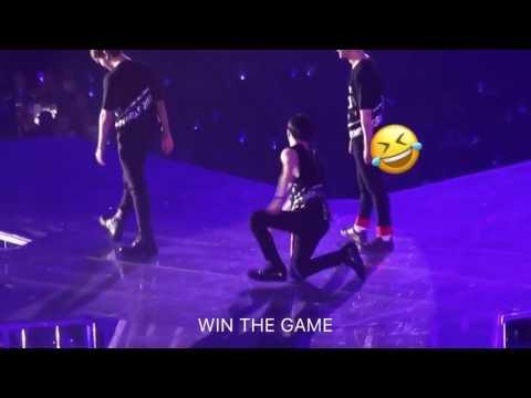 I7O424 Onew mimicking Taemin's horrifying dance