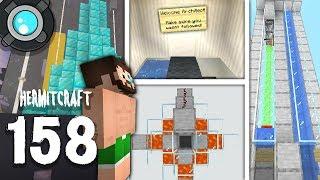 HermitCraft 6: 158 | Architech Bunker SECRET Entrance!