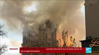 SANS COMMENTAIRE - Incendie de la cathédrale Notre-Dame de Paris