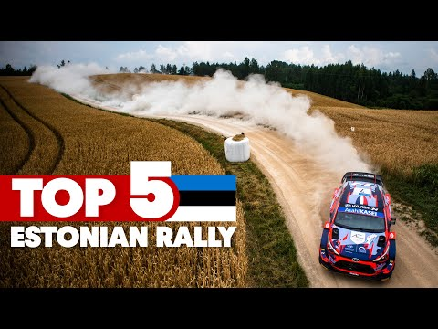 The Best Bits from A Busy Weekend: Top 5 Moments From Rally Estonia - WRC 2021