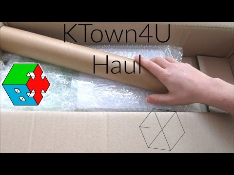 KTown4U Unboxing: EXO!  [KPOP HAUL]