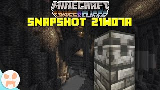 BRAND NEW GRIMSTONE + BIG ORE CHANGES! | Minecraft 1.17 Caves and Cliffs Snapshot 21w07a