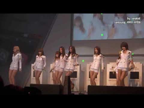 소녀시대 - 초콜릿 러브 (Girl's Generation - Chocolate Love) @ Mobile Worldcup