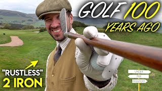 Golf....100 YEARS AGO! - YouTube