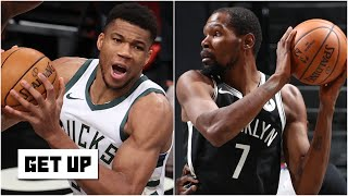 Bucks vs. Nets highlights and analysis: KD and Harden's chemistry | Get Up