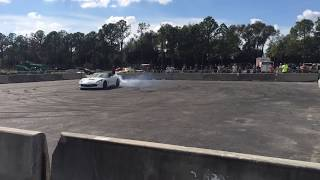 Cleetus and cars 2018 bald eagle machine burnout c7 vette