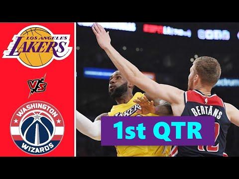 Los Angeles Lakers vs. Washington Wizards Full Highlights 1st Quarter | NBA Season 2021