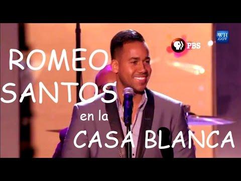 Romeo Santos cantando