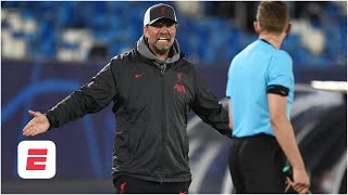 Jurgen Klopp complains about UCL refs and Real Madrid's stadium: Does he have a point? | ESPN FC