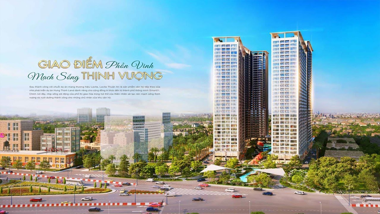Hưng Thịnh gây bão với căn hộ, officetel chuẩn resort Lavita Thuận An chỉ 1,29tỷ/căn, 32 triệu/m2 video