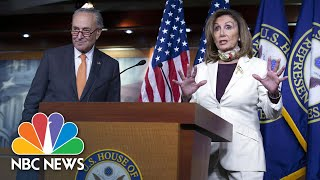 Pelosi & Schumer Support Keeping $600-A-Week Unemployment Benefit In Covid Relief Plans | NBC News