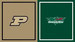 Highlights: Haarms Tallies 7 Blocks in Opening Win | Green Bay at Purdue | Nov. 6, 2019