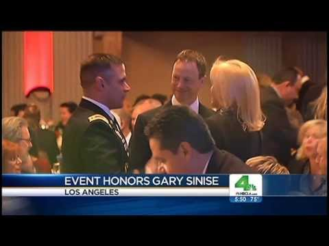 Gary Sinise Honored