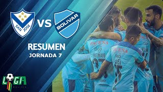 RESUMEN SAN JOSE VS CLUB BOLIVAR (0-5)
