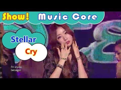[HOT] Stellar - Cry, 스텔라 - 펑펑 울었어 Show Music core 20160820