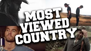 Top 100 Most Viewed Country Songs of All Time