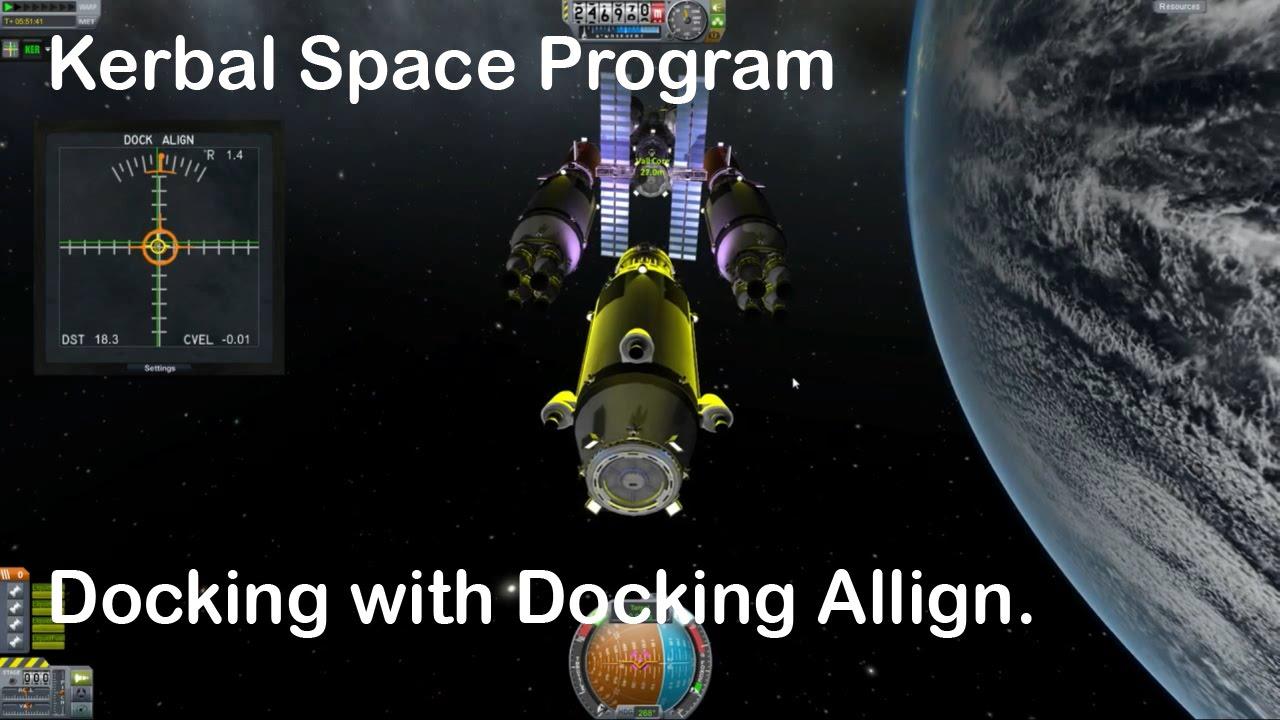 Kerbal Space Program Docking - YouTube
