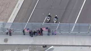 RAW VIDEO: Community pays final respect for fallen Salt River police officer