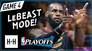 LeBron James EPIC Full Game 4 Highlights vs Celtics 2018 Playoffs ECF - 44 Points, LeBOSTON!