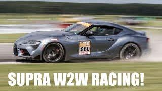 2020 Toyota Supra Wheel-To-Wheel Racing! CSCS Max Attack TMP Cayuga - Project TA90 #5