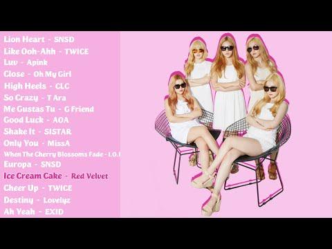 The Best K-Pop Girl Group Songs (Part 1)