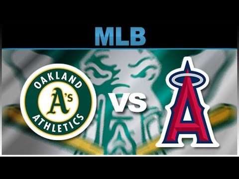 Oakland Athletics vs Los Angeles Angels Of Anaheim