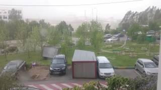Ураган в Москве 29.05.2017 - улетела