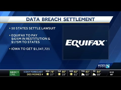 Iowa to see $1.3M in Equifax data breach settlement