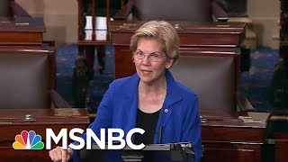 Watch Senator Warren Call To Impeach Trump On Senate Floor | The Beat With Ari Melber | MSNBC