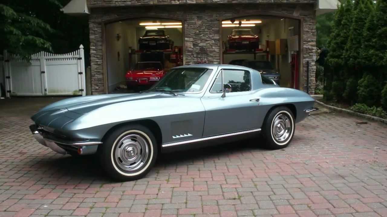 67 Corvette For Sale >> 1967 Corvette Coupe For Sale~Elkhart Blue~PB/PS, A/C, Posi, Tint~Tank Sticker~Sales Reciept ...