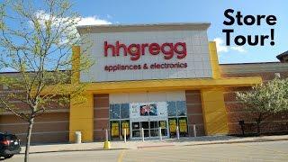 STORE TOUR: hhgregg, Crystal Lake IL (STORE CLOSING)