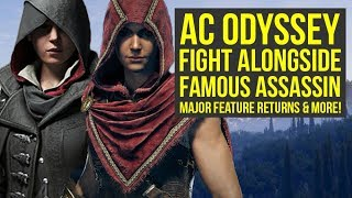 Assassin's Creed Odyssey MAJOR FEATURE Returns, Fight Alongside Familiar Assassin & More! AC Ody