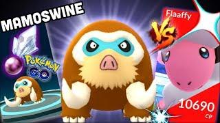 Mamoswine do you need Ancient Power in Pokemon GO   Happiny & Riolu hatch