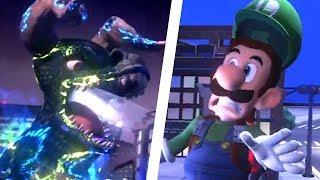 Luigi's Mansion 3 - Godzilla Boss Fight Gameplay