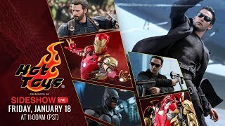 Captain America, Iron Man, Batman, Neo - Hot Toys Live presented by Sideshow!
