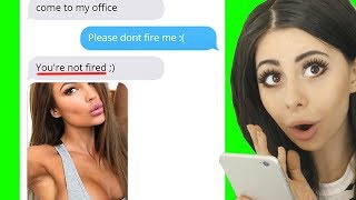 Funniest BOSS - EMPLOYEE Texts Received at Work