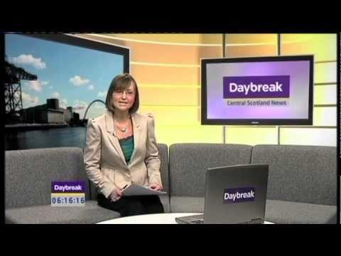 ITV Daybreak video of Deafblind Scotland's tandem challenge