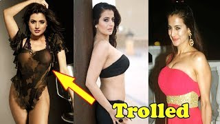 Ameesha Patel's harmless photos on social media lead to cyber harassment 2018