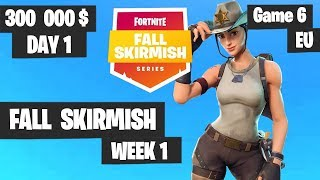 Fortnite Fall Skirmish Week 1 Day 1 Game 6 EU Highlights (Group 2) - Hold The Thrones
