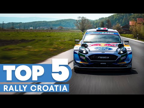 The Most Incredible Moments From Rally Croatia - WRC 2021