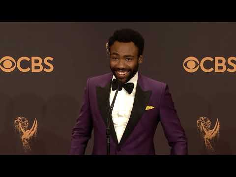 Donald Glover - Emmys 2017 - Full Backstage Interview